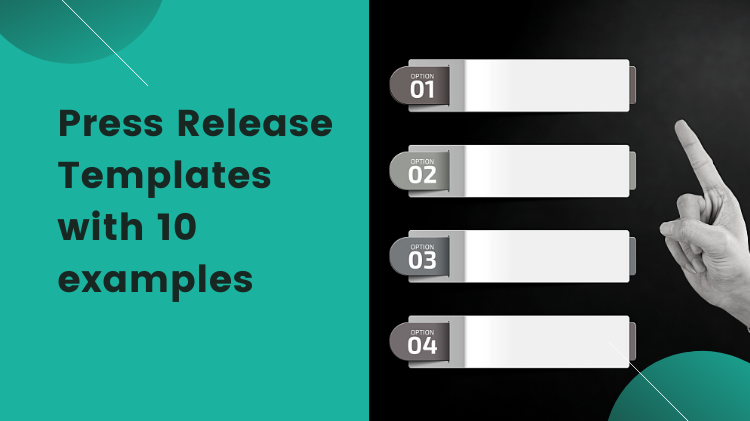 Press Release Templates – with 10 examples